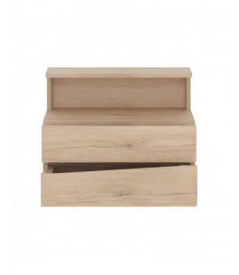 Kensington 2 Drawer Bedside Cabinet RH Drawer (wall fixing) (95P)