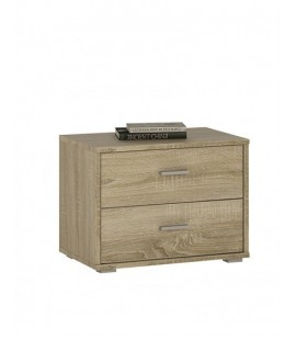4 You 2 Drawer Low Chest/Bedside (YUK 12)