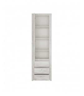 Angel Tall Narrow One Door 3 Drawer Narrow Cupboard (10)