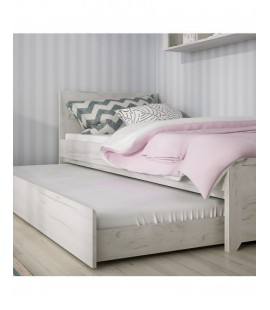 Angel Single Bed with underbed Drawer (Inc Slats) (90)