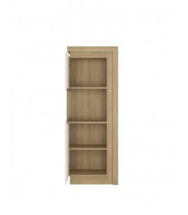 Lyon Narrow display cabinet (LHD) 164,1cm high (including LED lighting) (LYOV01 L)