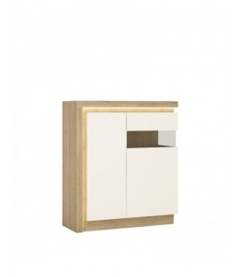Lyon 2 door designer cabinet (RH) (including LED lighting) (LYOV04 P)