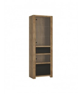 Havana 1 door 1 drawer display cabinet (HAVV01)