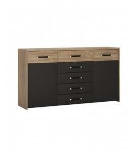 Monaco 2 door 5 drawer wide cupboard (MOAK04)