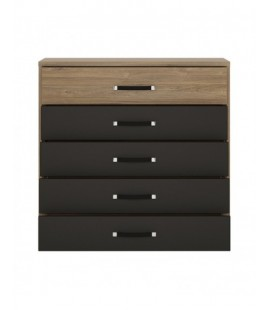 Monaco 5 drawer chest (MOAK03)