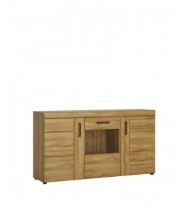 Cortina 3 door glazed sideboard (CNAK03)