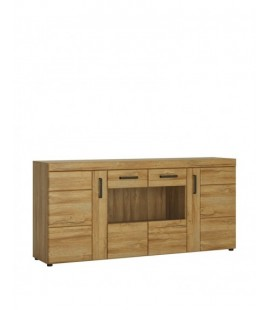 Cortina 4 door wide glazed sideboard (CNAK04)