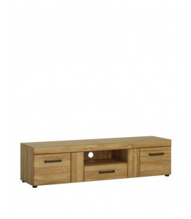 Cortina 2 door 1 drawer wide TV cabinet (CNAF02)