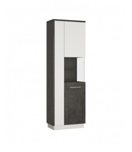 Zingaro Tall display cabinet (RH) (ZINV03 P)