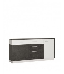 Zingaro 2 door 2 drawer 1 compartment sideboard (ZINK02)