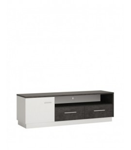 Zingaro 1 door 2 drawer wide TV cabinet (ZINF02)