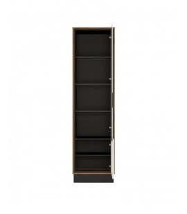 Brolo Tall glazed display cabinet (RH) (BROV01 P)