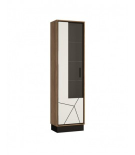 Brolo Tall glazed display cabinet (LH) (BROV01 L)