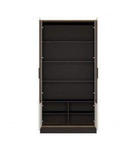 Brolo Tall wide glazed display cabinet (BROV02)