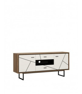Brolo 2 door 2 drawer TV unit (BROK01)