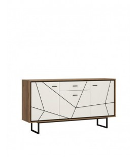 Brolo 3 door 1 drawer sideboard (BROK04)