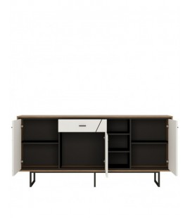 Brolo 3 door 1 drawer wide sideboard (BROK06)