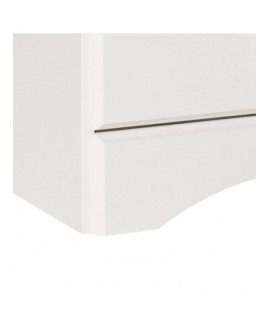 Scandi 3 Drawer Bedside White (3630030050325F)