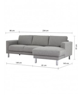 Cleveland Chaiselongue Sofa (RH) (82051801002)
