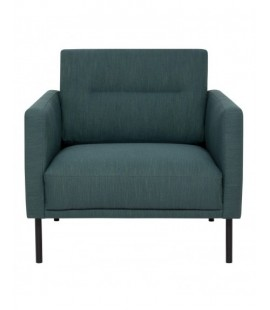 Larvik Larvik Armchair - Dark Green, Black Legs (82100101004)