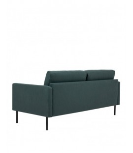 Larvik Larvik 2.5 Seater Sofa - Dark Green, Black Legs (82100401004)