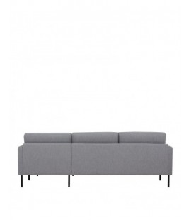 Larvik Larvik Chaiselongue Sofa (RH) - Grey, Black Legs (82101801004)