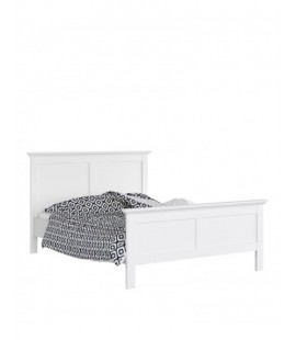 Paris Double Bed (140 x 200) in White (7670149)