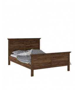 Paris Double Bed (140 x 200) in Walnut (76701dj)
