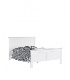 Paris King Bed (160 x 200) in White (767154949)