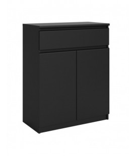 Naia Sideboard - 1 Drawer 2 Doors in Black Matt (71075gm)