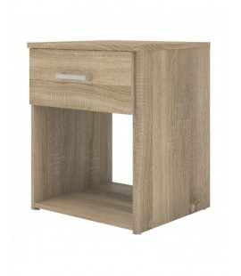 Space Bedside 1 Drawer in Oak (70423akak)