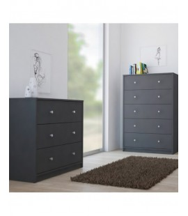 May Chest of 3 Drawers in Grey (70332cn)