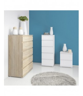 Nova Chest of 5 Drawers in Oak (71200ak)