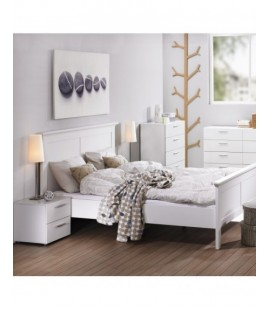 Pepe Bedside 2 Drawers in White (7007049)
