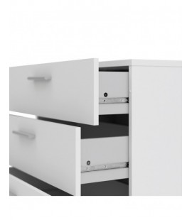 Pepe Chest of 4 Drawers in White (705054949)