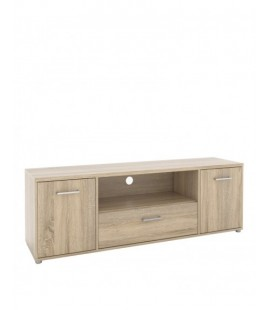 Match TV Unit 3 Drawers 1 Shelf in Oak (70041akak)