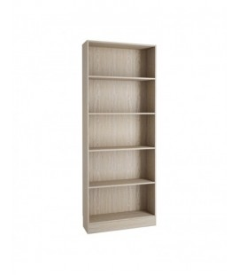 Basic Tall Wide Bookcase (4 Shelves) in Oak (71777ak)