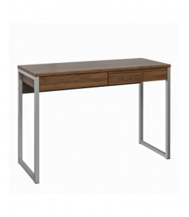 Function Plus Desk 2 Drawers in Walnut (80122dj)