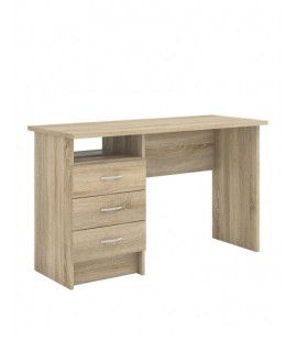 Function Plus Desk 3 Drawers in Oak (80134akak)