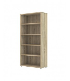 Prima Bookcase 4 Shelves in Oak (80420ak)