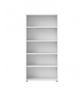 Prima Bookcase 4 Shelves in White (8042049)