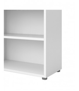 Prima Bookcase 5 Shelves in White (8042149)
