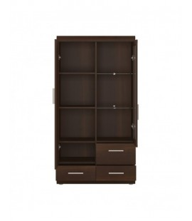 Imperial 2 Door 3 Drawer Glazed Display Cabinet (31)