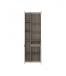 Chelsea Tall Glazed Narrow Display unit (LHD) (01P)