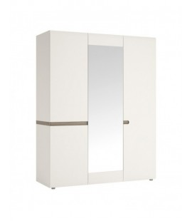 Chelsea 3 Door Robe with mirror and Internal shelving (22)