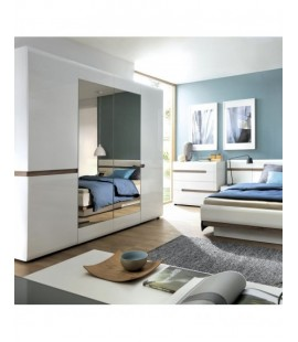 Chelsea 4 Door Robe with mirrors and Internal shelving (23)